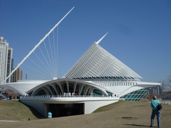 Milwaukee Art Museum Calatrava Addition Lavish Living