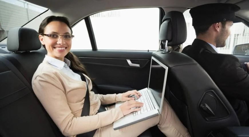 What is the importance of a hired limousine in the corporate sector?