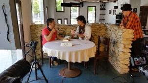 Programa con el escritor Andres Pascual en Larruzz, con Jon Fano y JabierCalle (2)