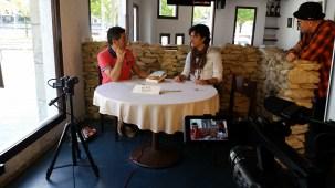 Programa con el escritor Andres Pascual en Larruzz, con Jon Fano y JabierCalle (3)