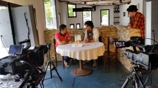 Programa con el escritor Andres Pascual en Larruzz, con Jon Fano y JabierCalle (6)