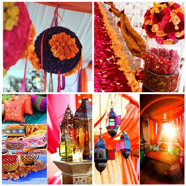 mexican themed wedding  La Vita Bella Events