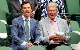 Benedict Cumberbatch and his father