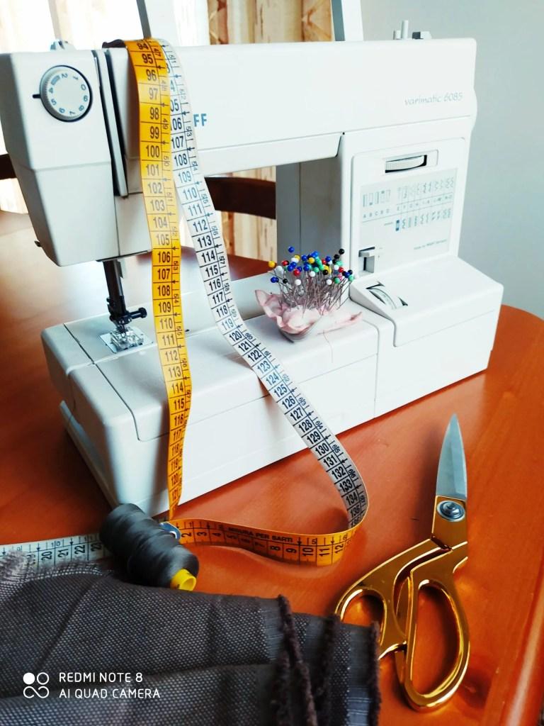 Materiale per iniziare a cucire