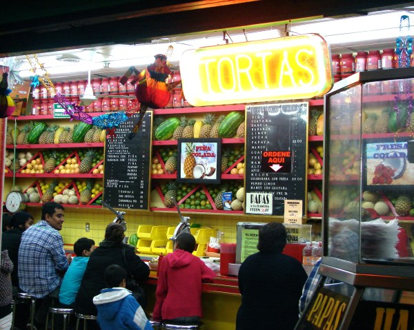 Tortas y Licuados  Mexico City, Mexico  Photo by: Brenda Storch