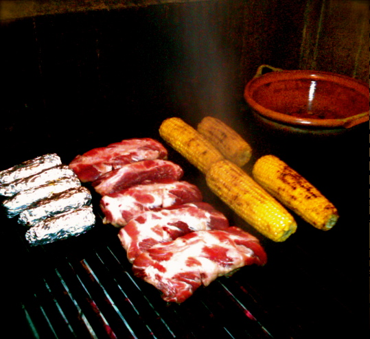 Grilling in Monterrey, Mexico. Photo credit: Illya Samko
