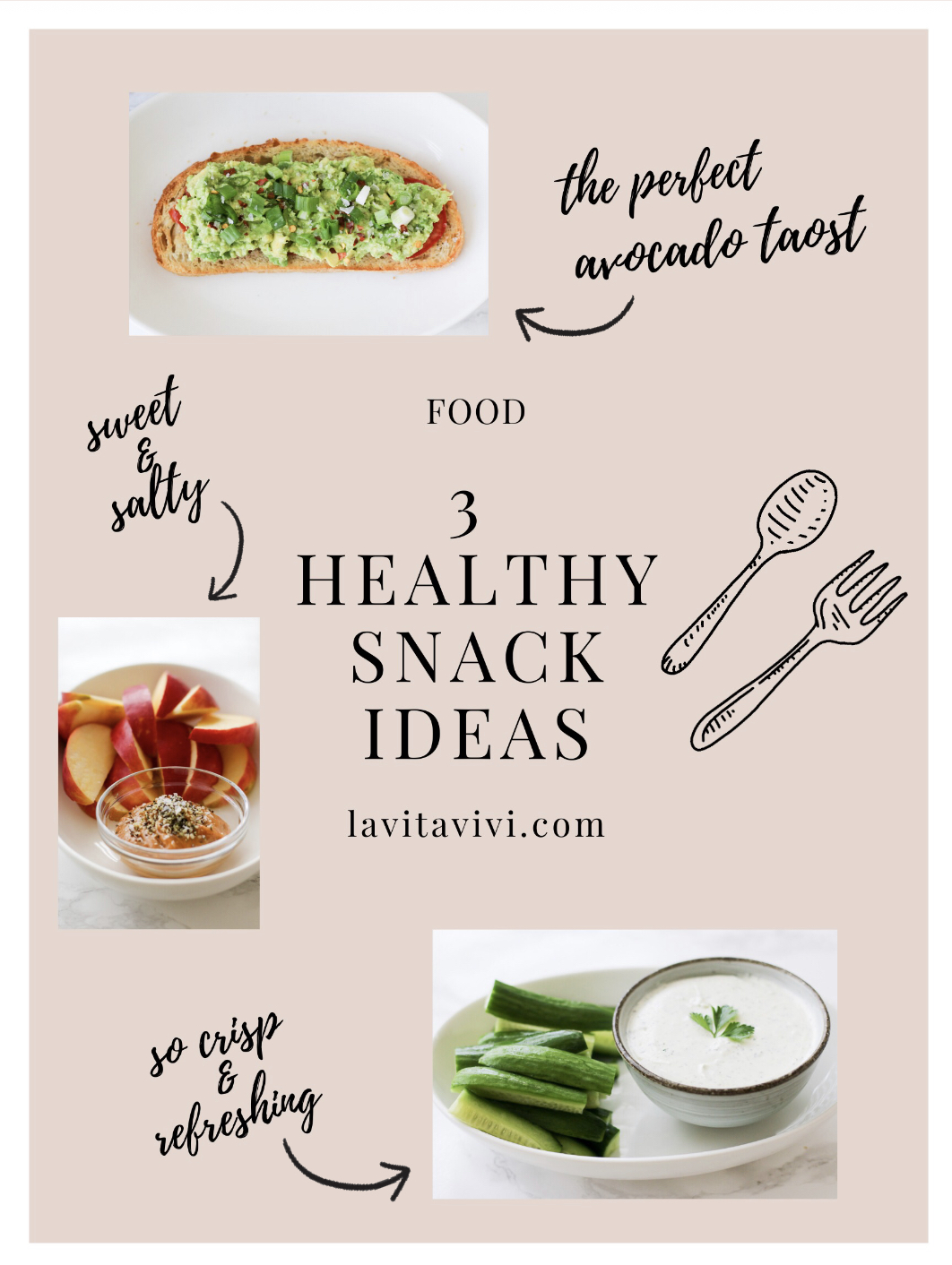 3 HEALTHY SNACK IDEAS