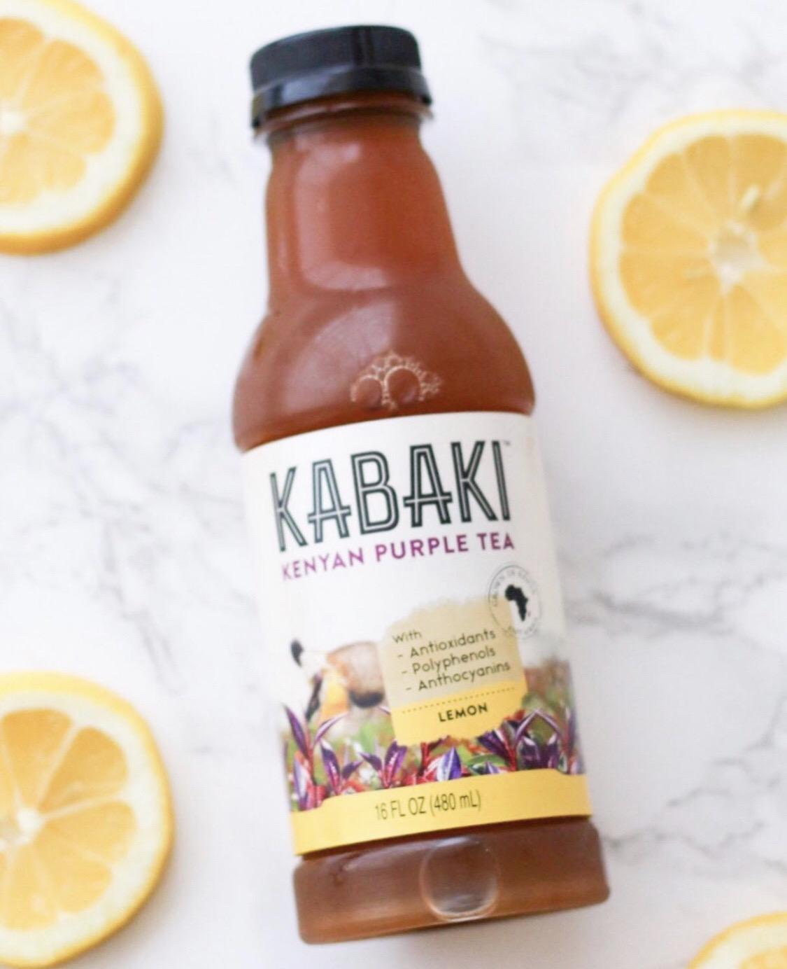 MY FAVE BOTTLED TEA FT. KABAKI TEA + DISCOUNT CODE!