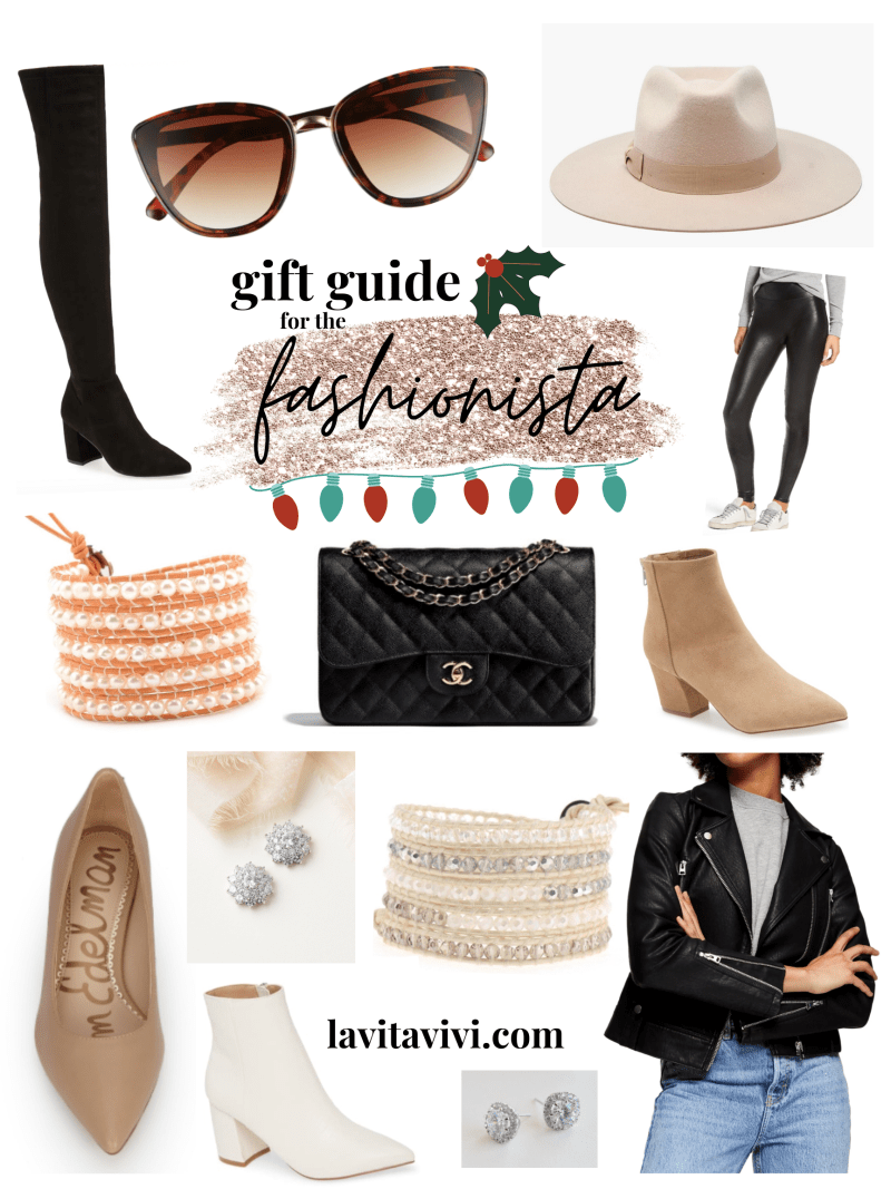 2020 HOLIDAY GIFT GUIDE: FOR THE FASHIONISTA