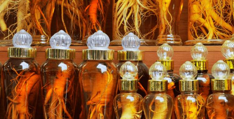 Ginseng as herbal remedy