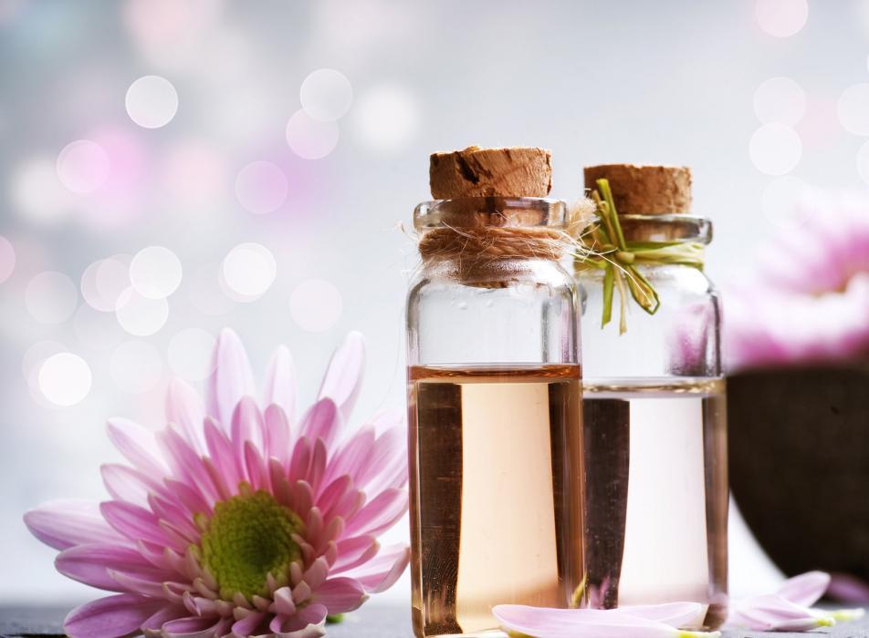 Hidrolatos e óleos essenciais