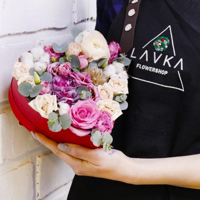 Цветы в коробках Уфа