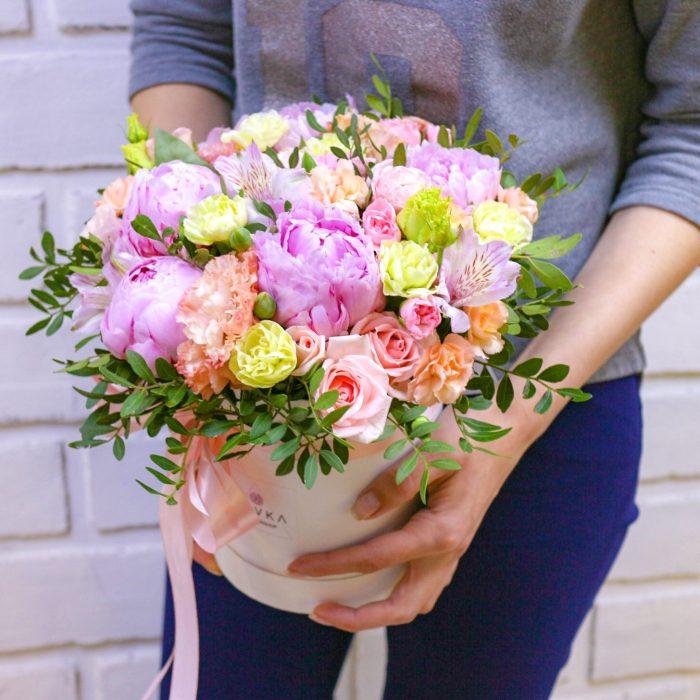 Цветы в коробке Уфа