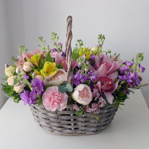 Цветочная корзина Уфа