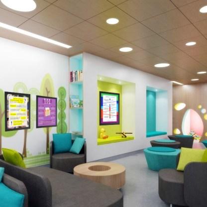 Комплект Детство 2 в комнате ожидания детской стом. поликлиники