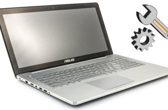 Ремонт петель в ноутбуке Asus n550