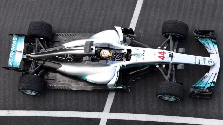 Mercedes W08 EQ Power+