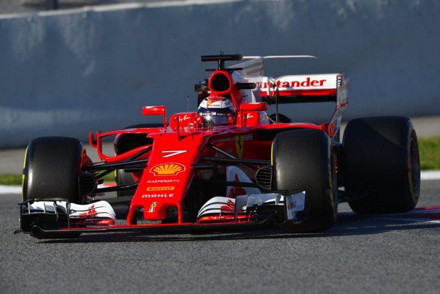 f1 testing 2017 ferrari