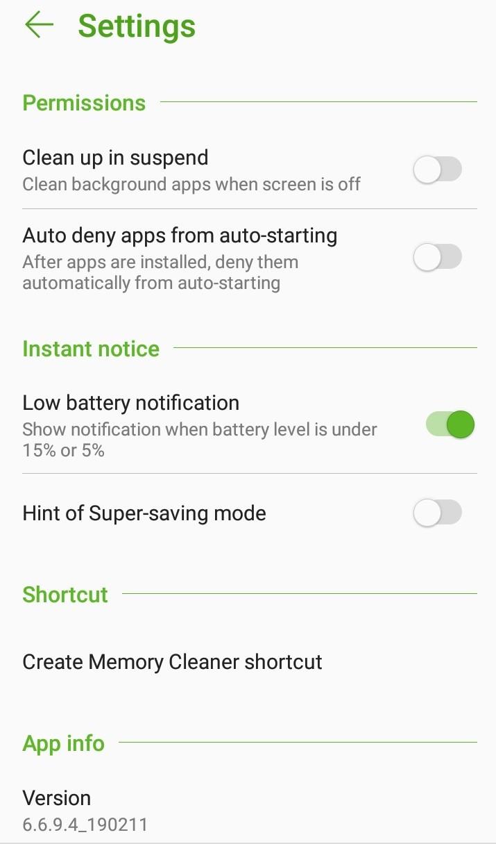 Как запретить Asus и Android убивать приложения в фоновом режиме?