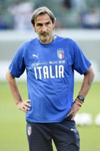 Nel team di Roberto Mancini, in Nazionale