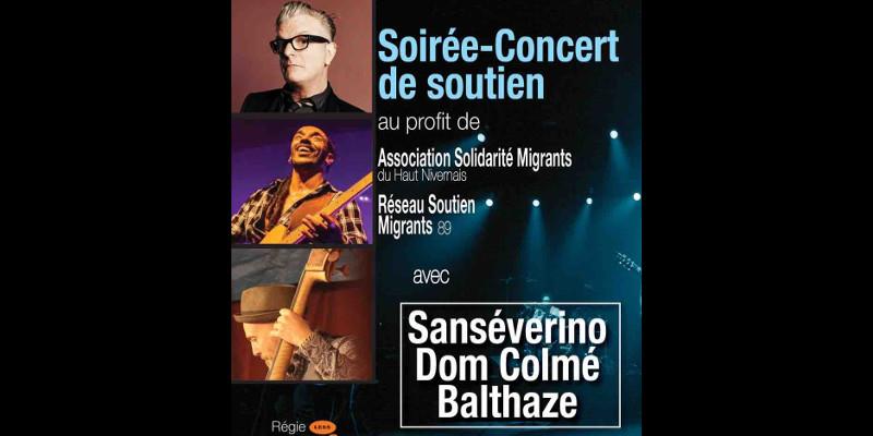 Concert de soutien aux migrants