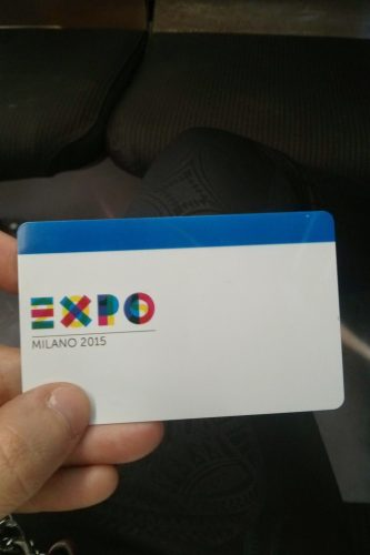 Tesserino Expo 2015