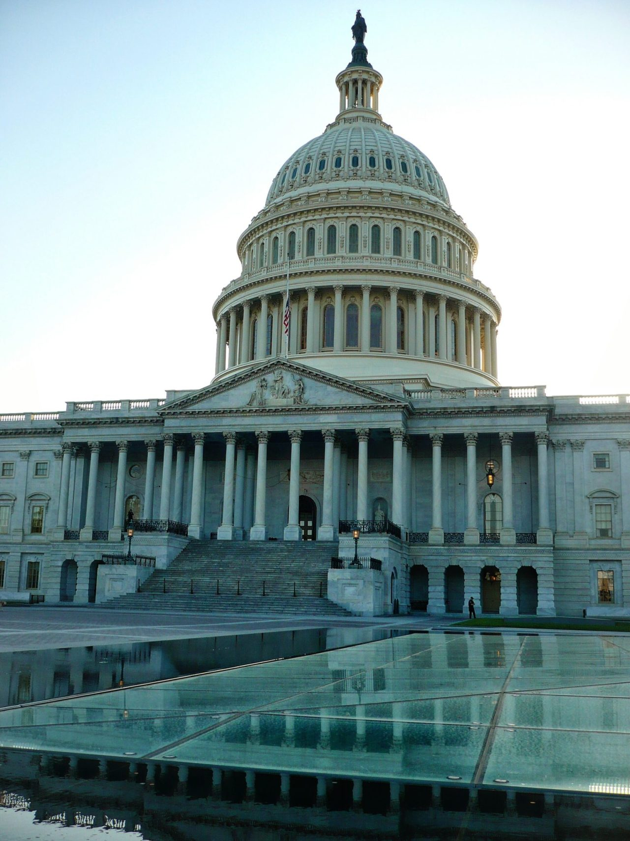 Capitol of the USA, Washington DC.