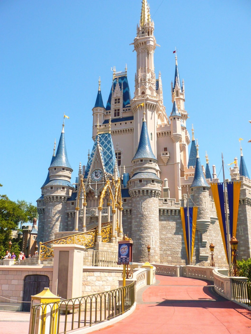 Cinderella Castle, Magic Kingdom, The Walt Disney World