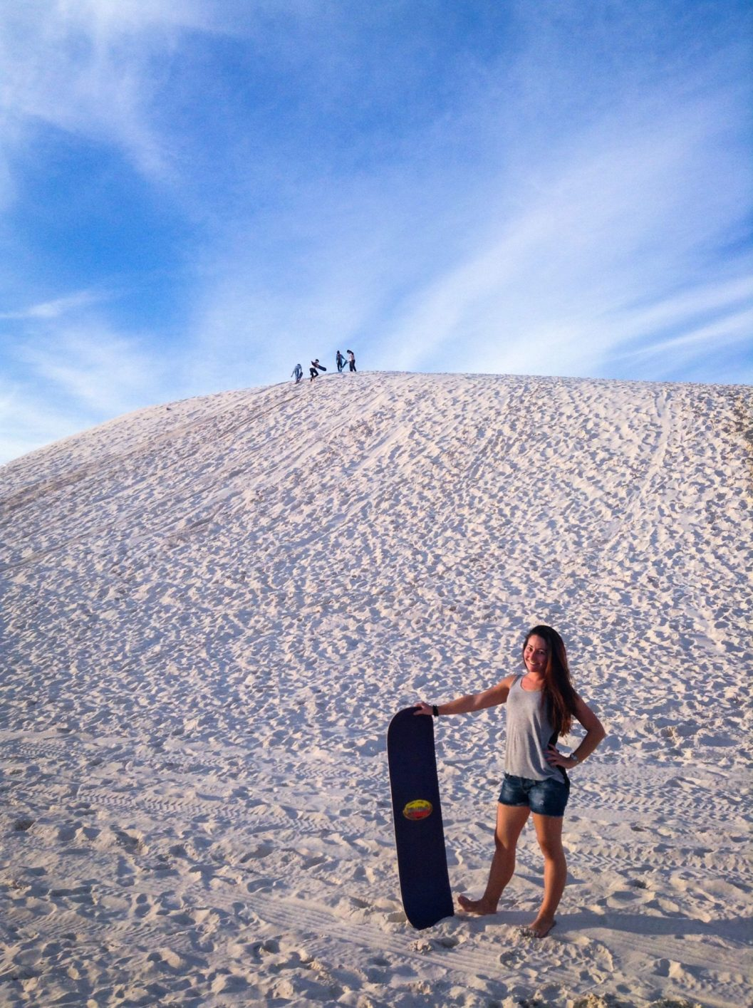 Sandboarding, Western Australia