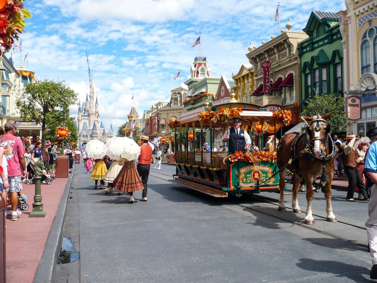 Main St USA, Magic Kingdom, Walt Disney World