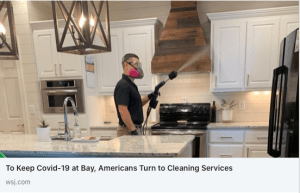 WSJ Effective Cleaning article