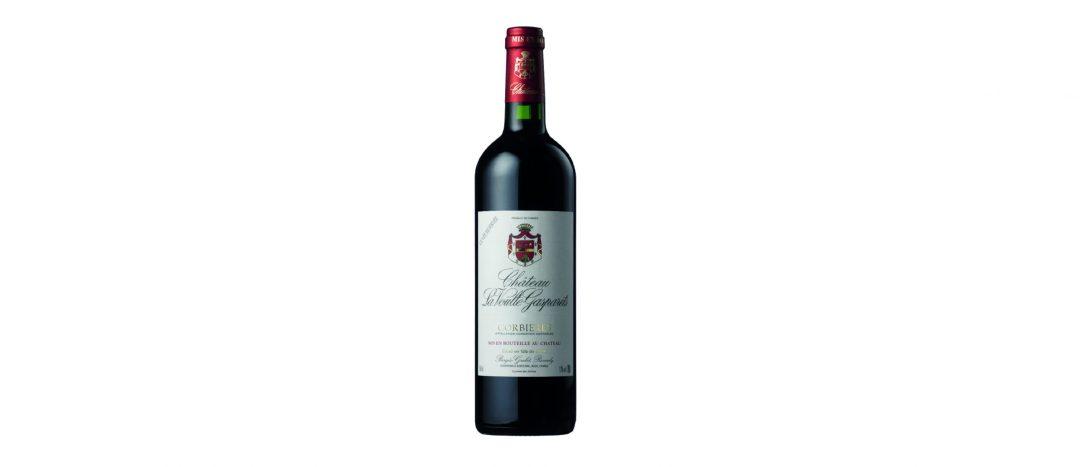 bouteille de vin rouge cuvée réservée
