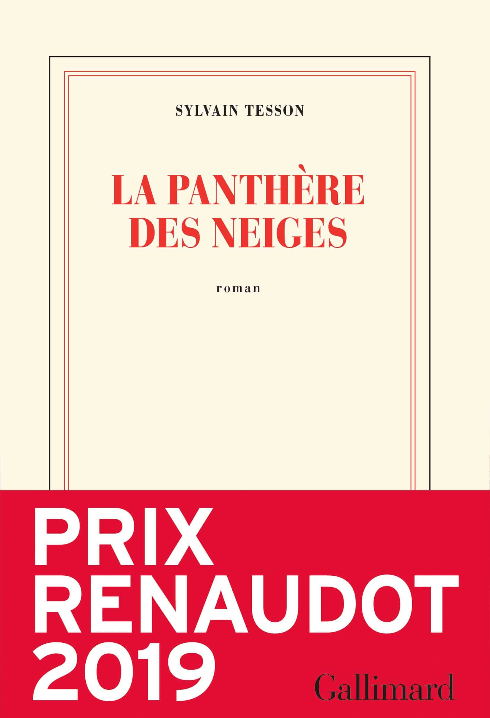 La panthere des neiges de Sylvain Tesson