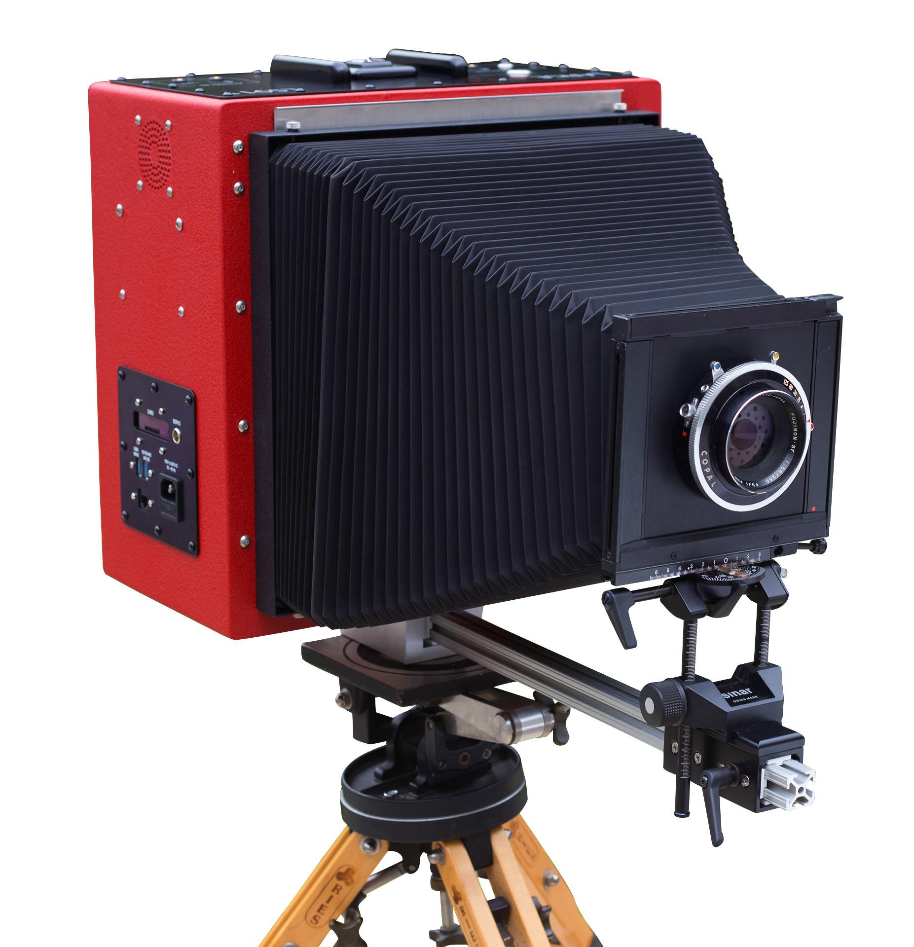 LS911, la primera cámara digital de fotograma completo 8x10