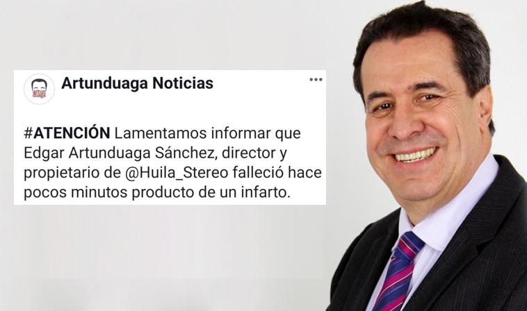 Muere el periodista Édgar Artunduaga, cinco veces ganador del premio Simón Bolívar