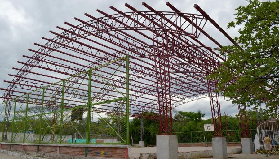 Obras de mejoramiento de infraestructura educativa en tres comunidades de Oporapa - Noticias