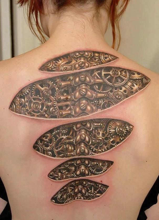50 Impresionantes Tatuajes Realistas En 3d La Voz Del Muro