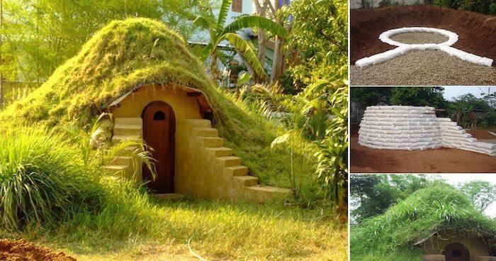 Construir tu propia casa hobbit en el jardn por 270 es