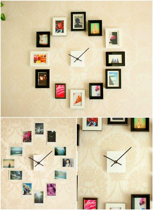 20 originales maneras de decorar con fotografas que