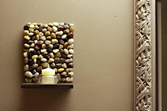20 fantsticas ideas para decorar tu casa con piedras de