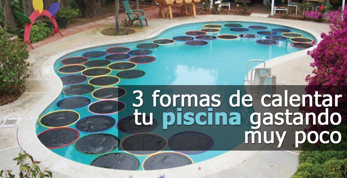 3 mtodos para calentar el agua de tu piscina de forma