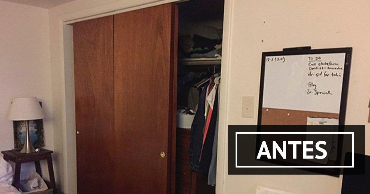 Cmo transformar tu viejo armario en uno completamente