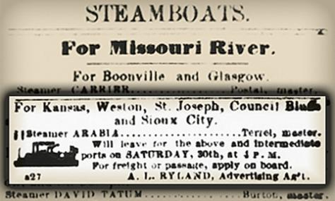Barco de Vapor de 1856