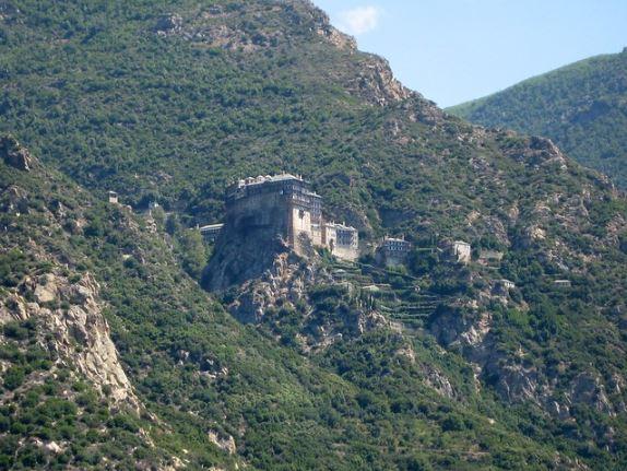 monasterio en grecia