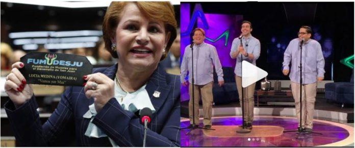 "Video: lanzan canción sobre Lucía Medina titulada ""La de la mochila tuuu"" en programa televisivo Chévere Night"