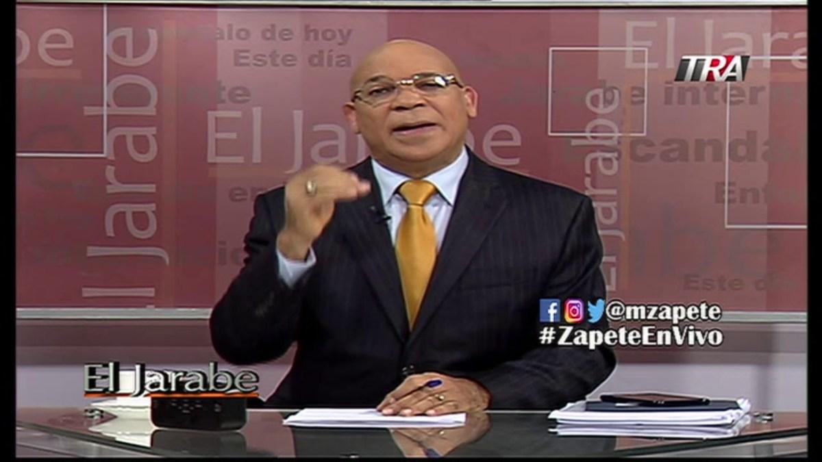 Zapete presenta fortunas millonarias de miembros del PLD que no pueden explicar