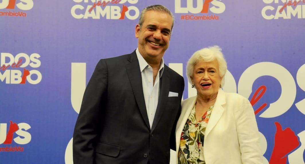 """Milagros Ortiz Bosch encabezará Movimiento del Sector Externo de Luis Abinader """"Unidos Por El Cambio"""""""