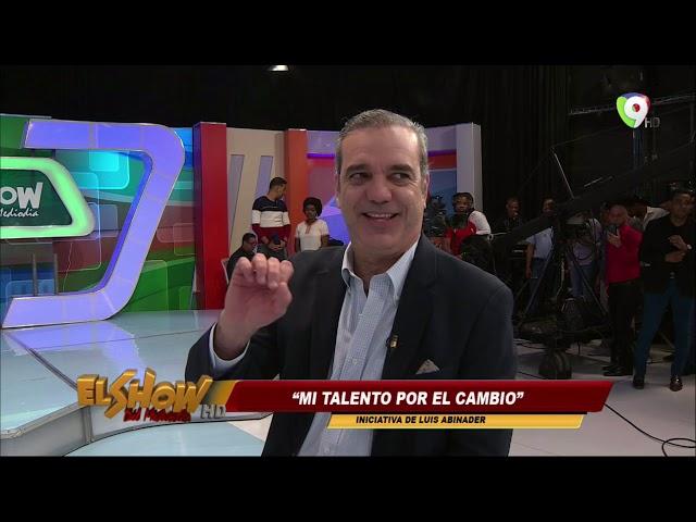 Luis Abinader Nos Cuenta Sobre Mi talento por el cambio