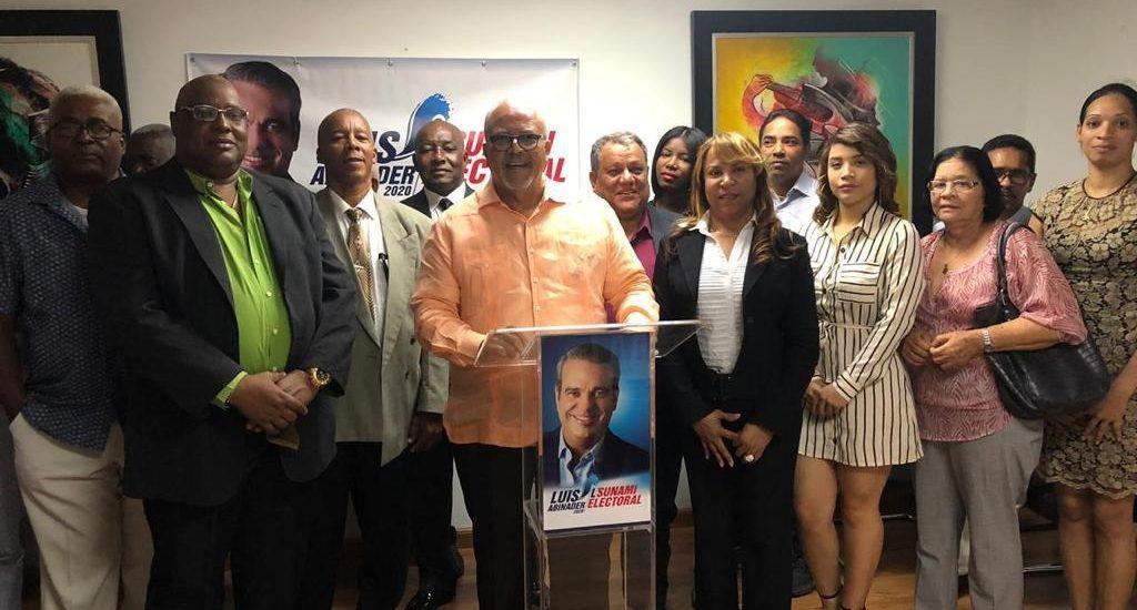 Ofrecen detalles movimiento L'Sunami Electoral con vista a fortalecer precandidatura de Abinader