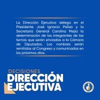 Decisiones Dirección Ejecutiva @PRM_Oficial - 27 Oct. 2020